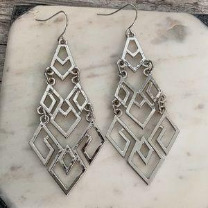 Carla Geometric Dangle Earrings